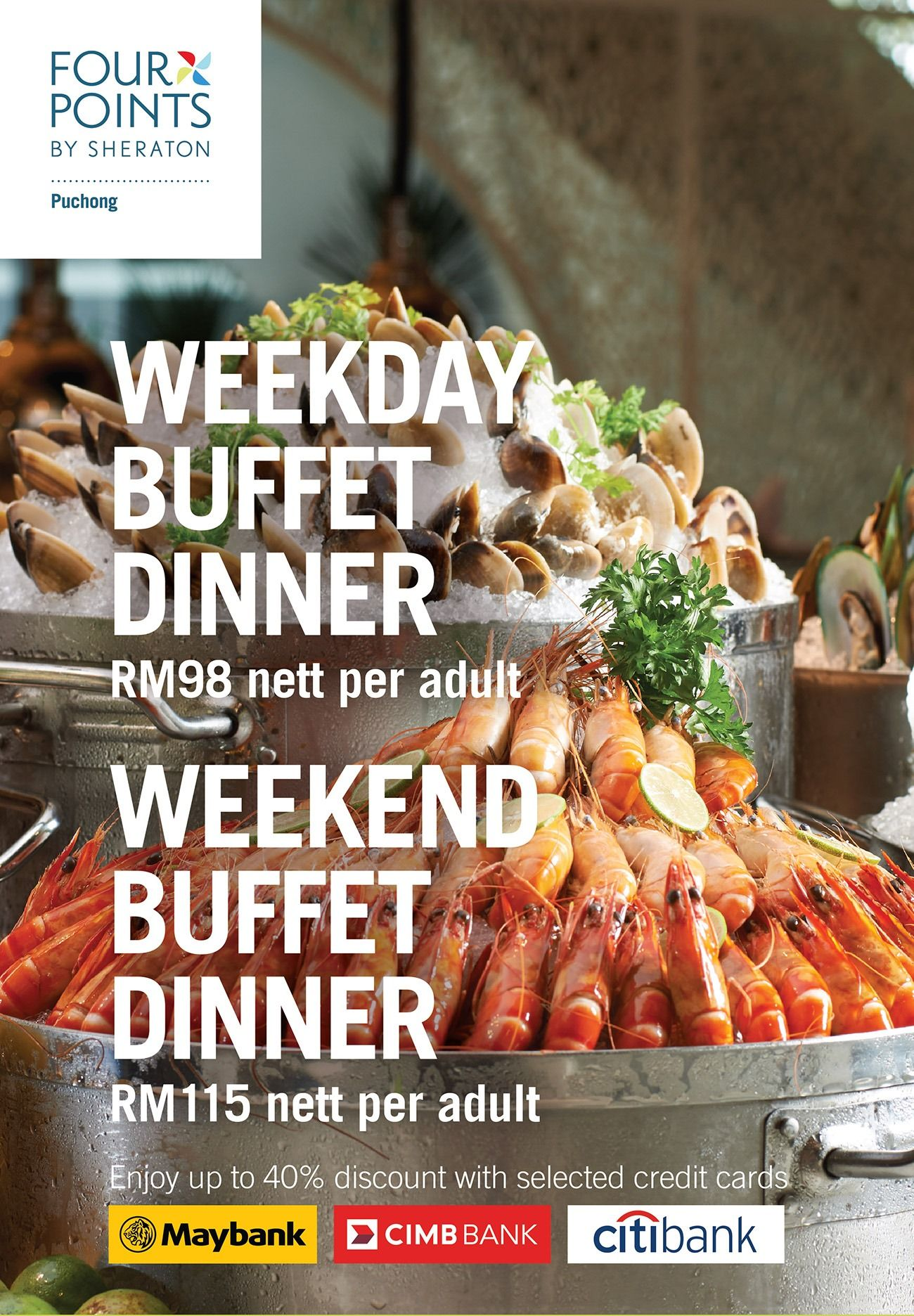 Seafood & Grill Dinner Buffet
