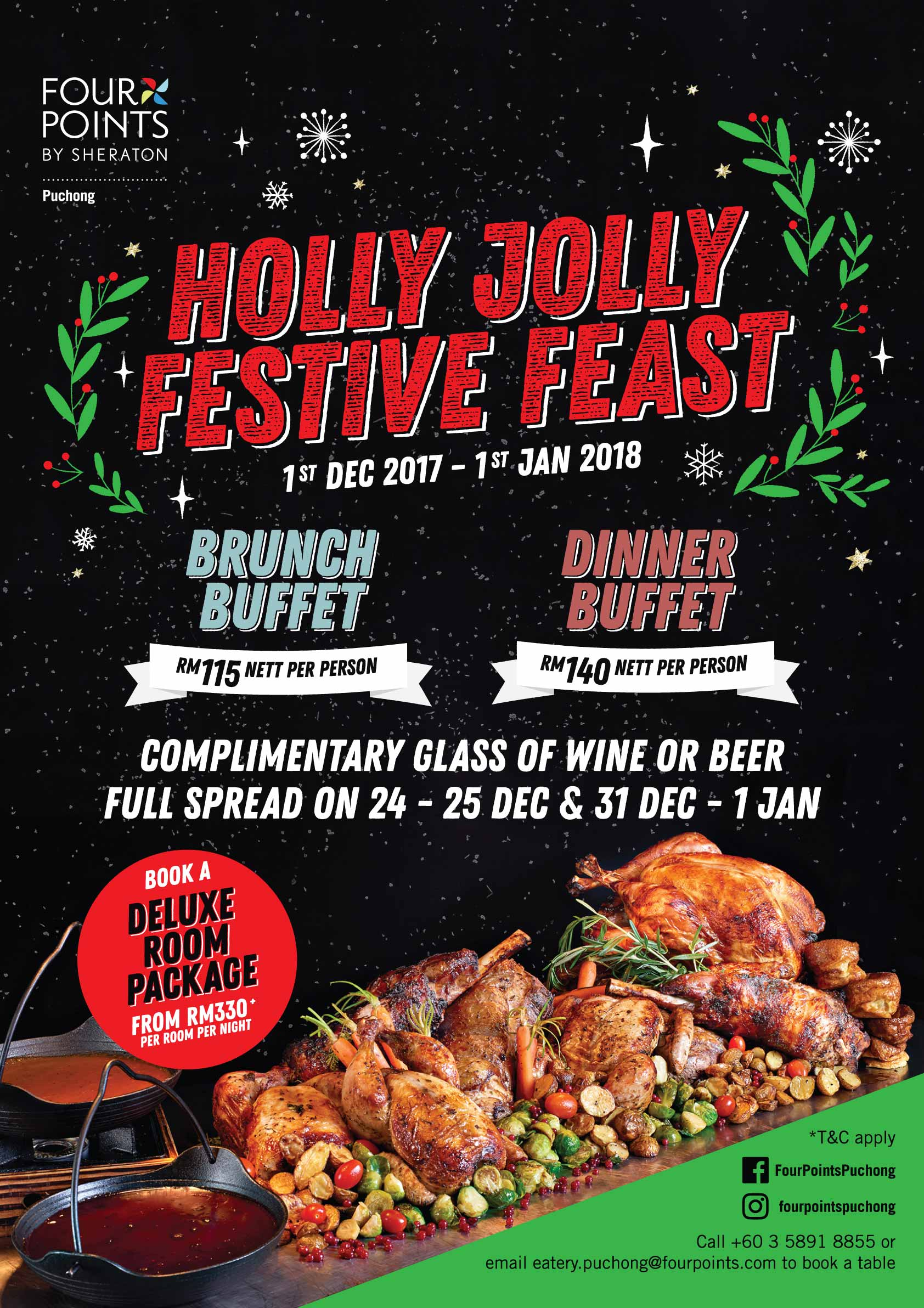 Holly Jolly Festive Feast